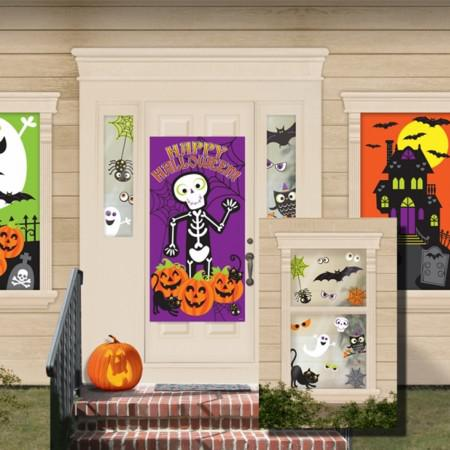 HALLOWEEN SPOOKTACULAR FAMILY FRIENDLY MEGA WALL DECORATING KIT