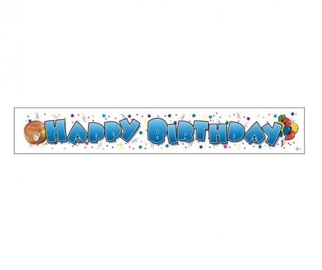 GIANT BANNER - HAPPY BIRTHDAY - 2 LEFT ONLY