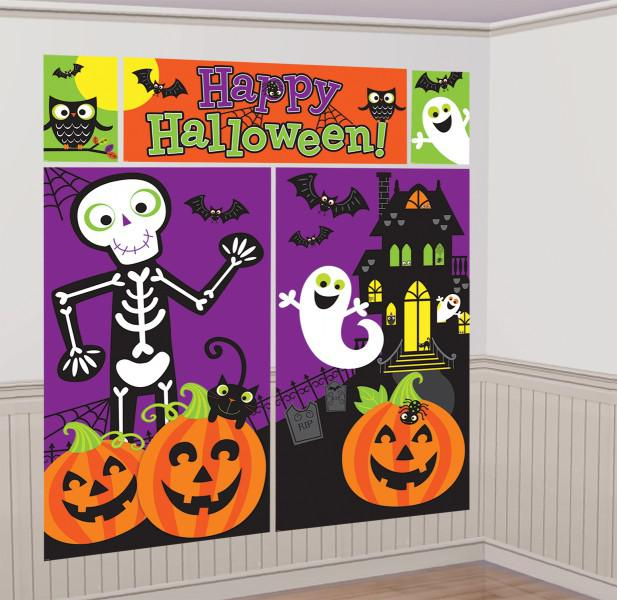 SCENE SETTER - HAPPY HALLOWEEN GIANT WALL DECORATING KIT