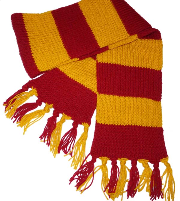WIZARD POTTER WARTHOG HIGH STYLE SCARF