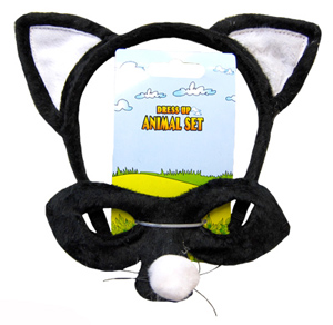 HEADBAND & MASK SET - CAT