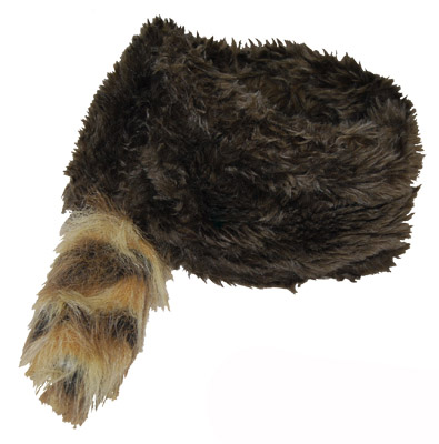 DANIEL BOON TRAPPER/RACCOON SKIN HAT