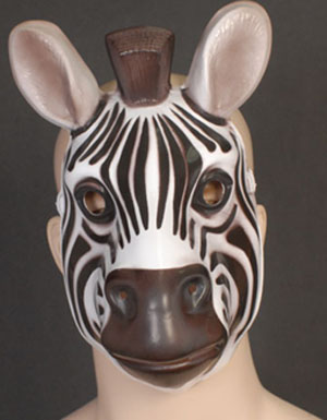 MASK - FULL FACE ZEBRA