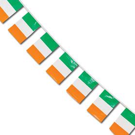 Image of Irish Flag Bunting  4m