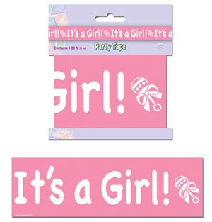IT'S A GIRL TAPE