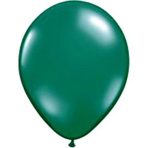 BALLOONS LATEX - GREEN PROFESSIONAL PACK 15