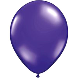 BALLOONS LATEX - PURPLE JEWEL TONE PROFESSIONAL PK 25