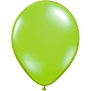 BALLOONS LATEX - LIME JEWEL TONE PROFESSIONAL PK 100