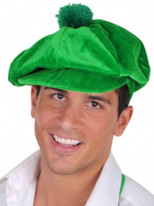 JOCKEY VELVET CAP GREEN