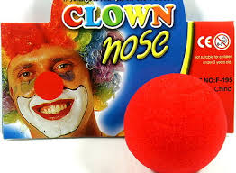 CLOWN RED NOSE - FOAM JUMBO SIZE