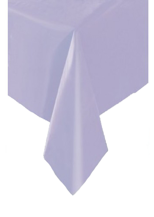 DISPOSABLE TABLECOVER - RECTANGULAR LAVENDER