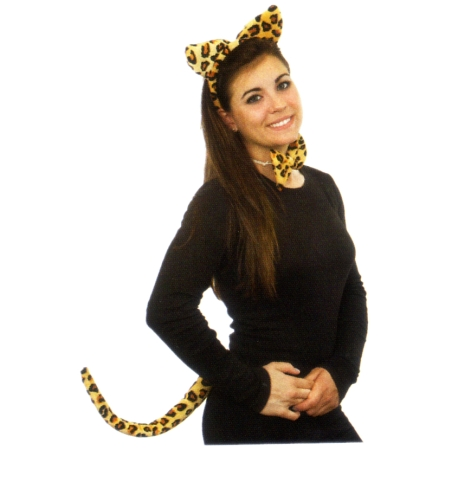 LEOPARD DRESS UP KIT - ADULT