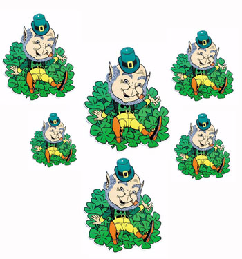 CHEEKY LEPRECHAUNS - SET OF 5