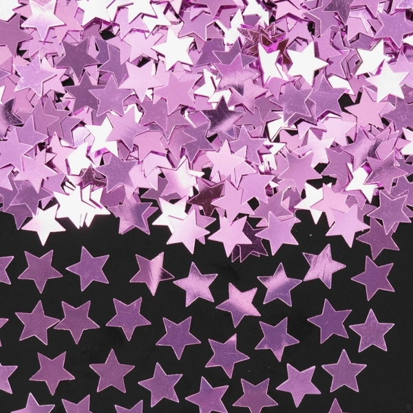 TABLE SCATTERS - PALE PINK STARS