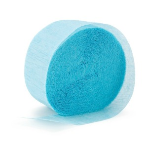 STREAMER - PALE BLUE CREPE
