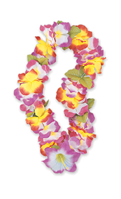 HAWAIIAN FLOWER LEIS - LILLY DELUXE
