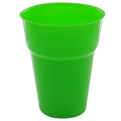 DISPOSABLE CUPS - LIME PACK 25
