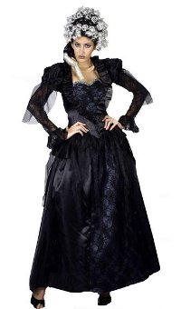 WICKED QUEEN FANCY DRESS COSTUME MED - LARGE