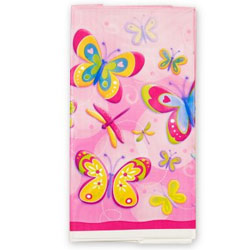 DRAGONFLY & BUTTERFLY PARTY TABLE COVER