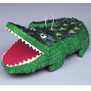 Image of Pinata  Alligator
