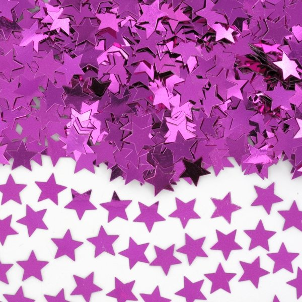 TABLE SCATTERS MAGENTA STARS