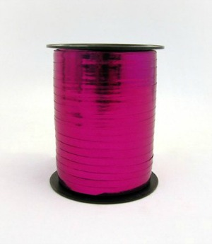 RIBBON ROLL METALLIC MAGENTA