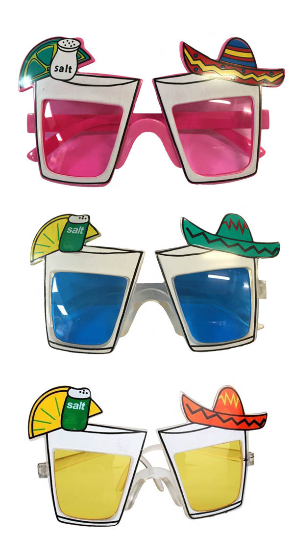 MEXICAN FEISTA NOVELTY GLASSES