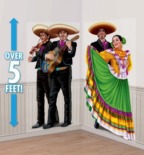 SCENE SETTER ADD ON - MEXICAN COWBOY & FLAMENCO DANCER
