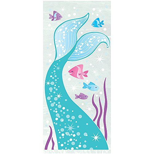 MERMAID PARTY CELLO BAGS - PACK OF 20