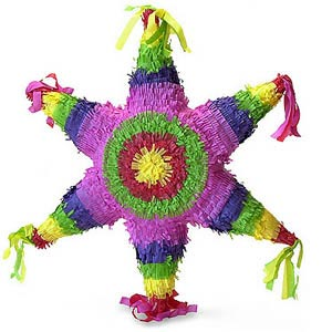 PINATA - MEXICAN STAR