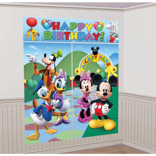 MICKEY & THE GANG 'HAPPY BIRTHDAY' SCENE SETTER KIT