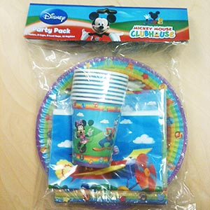 MICKEY  & MINNIE MOUSE PARTY PACK OF 40