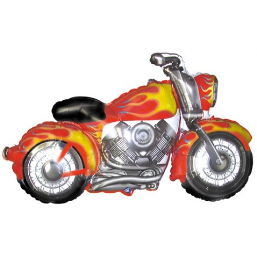 FOIL SUPER SHAPE BALLOON - HARLEY MOTORCYCLE