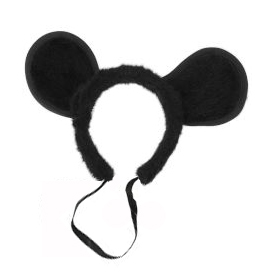 MOUSE EARS - VELOUR TYPE