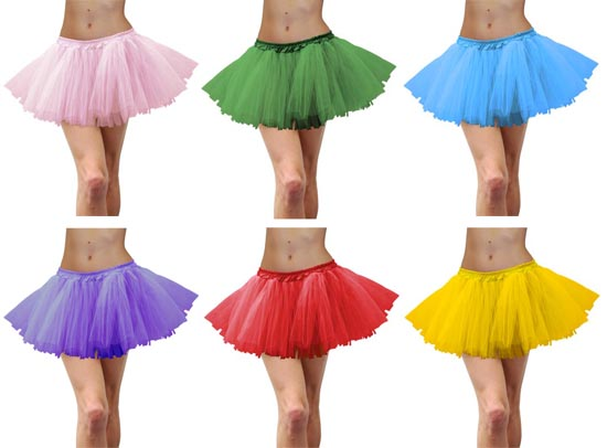 TUTUS - 6 COLOURS TO CHOOSE FROM