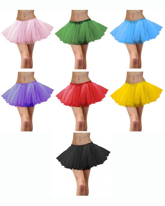 TUTUS - 7 COLOURS TO CHOOSE FROM