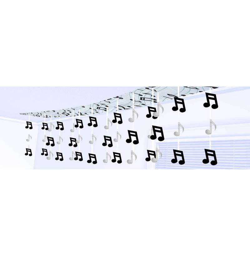 CEILING DECORATION - MUSICAL NOTES