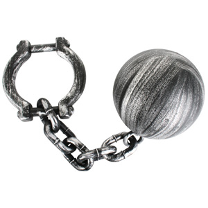 BALL & CHAIN - REALISTIC LOOKING