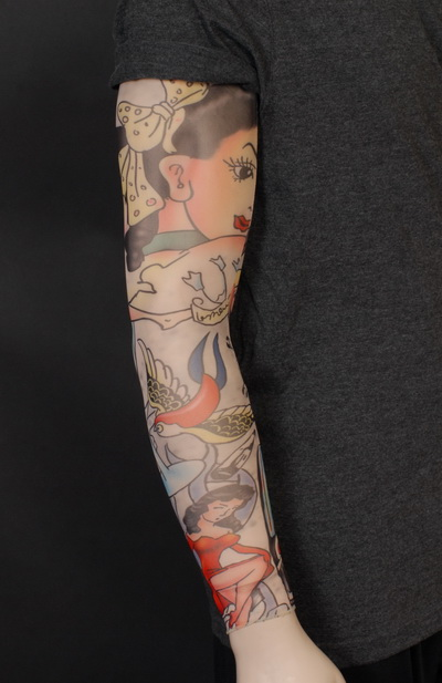 TATTOO SLEEVE - OLD SCHOOL STYLE