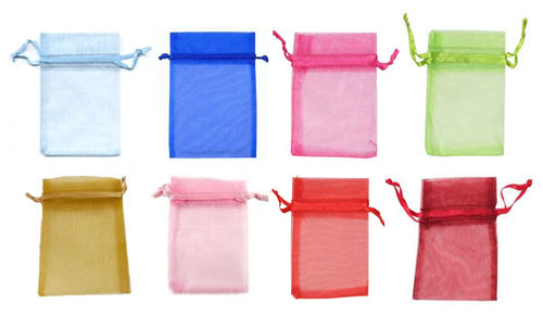 ORGANZA BAGS - PACK OF 10