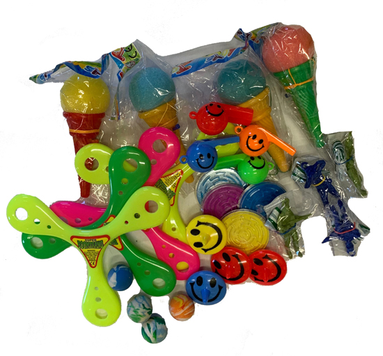 PARTY FAVOURS OR PINATA FILLERS - PACK OF 28