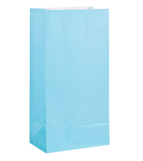 PAPER LOOT BAGS - PALE BLUE