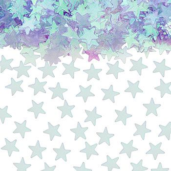 TABLE SCATTERS PALE BLUE STARS