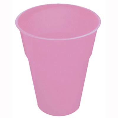 DISPOSABLE CUPS - PALE PINK PACK 25