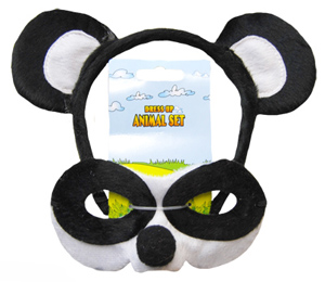 HEADBAND & MASK SET - PANDA