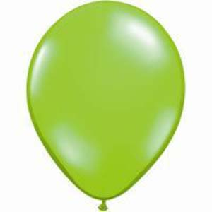 BALLOONS LATEX - LIME PROFESSIONAL PACK 15