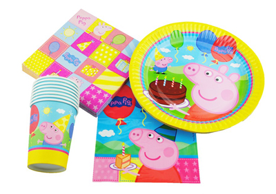 PEPPA PIG 40 PIECE PARTY PACK