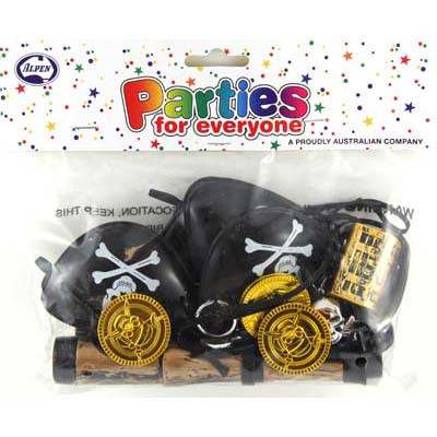 PARTY FAVOURS - PIRATE PACK OF 24