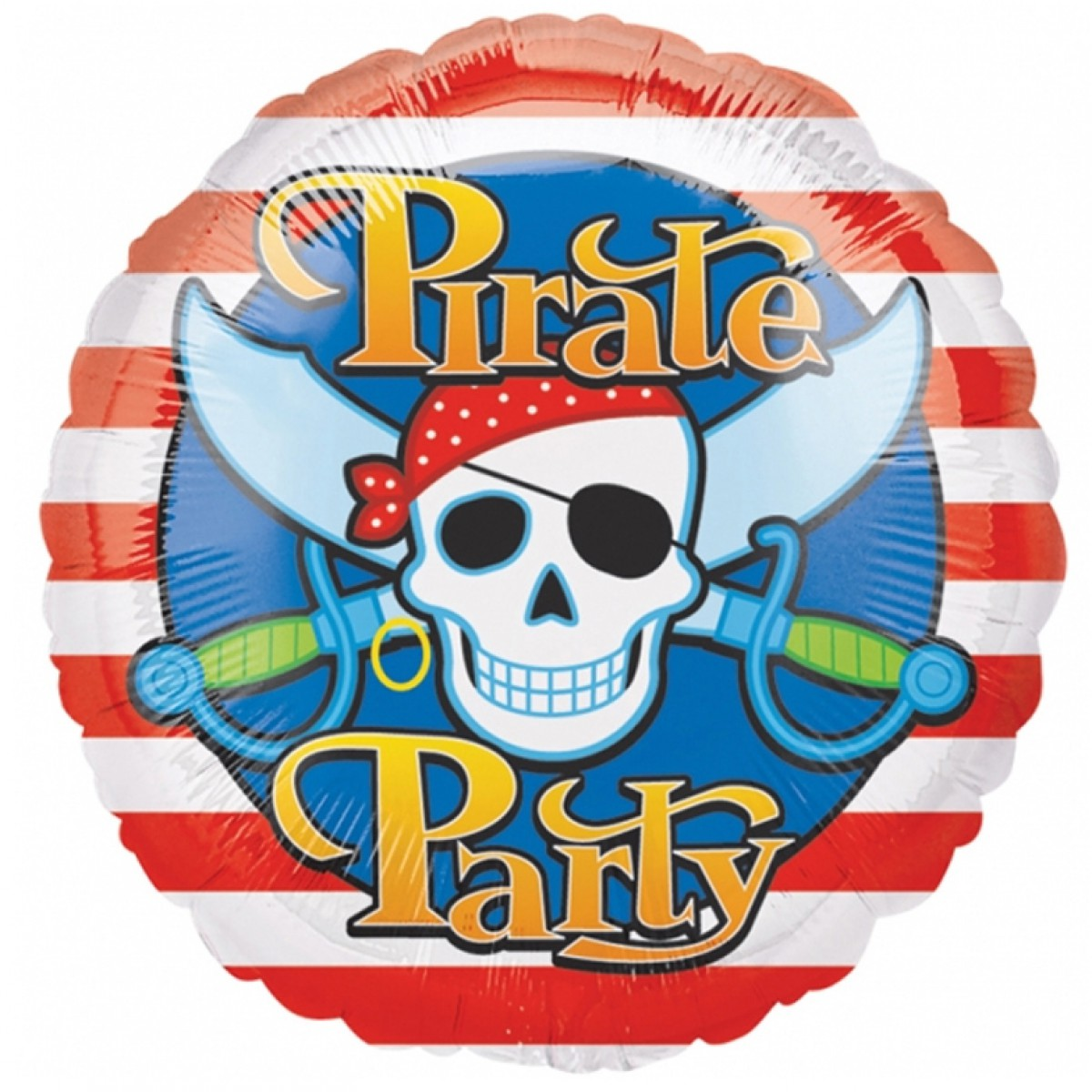 FOIL BALLOON - PIRATE PARTY