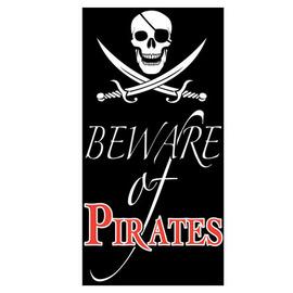 Image of Pirate Door Banner